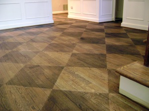 Checkerboard Wood Floor Artistry Amp Paint Fine Finishes